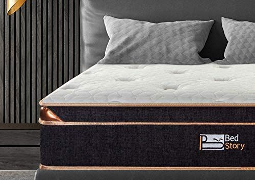 Best Seller Bedstory 10 Inch Hybrid Mattress King Mattress Small Box Black Luxury Gel Memory Foam Mattress Pocket Coil Innerspring Medium Firm Online In 2020 Bedroom Furniture Foam Mattress Log Bedroom Sets
