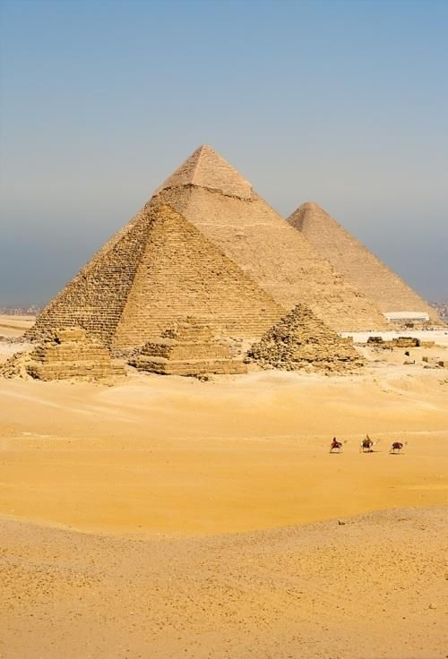 Pyramids, Egypt. It's gettin' hot in here.
