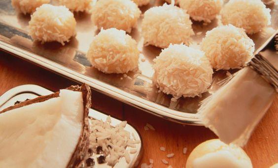 """Kokos-Kugelkekse """"Schneebällchen""""   Mondamin"""