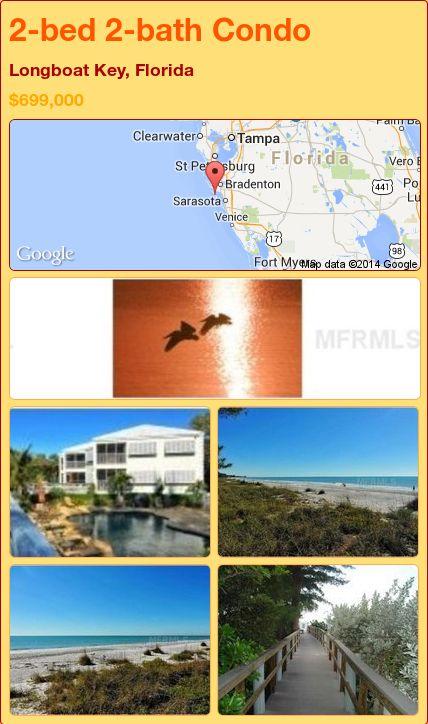 2-bed 2-bath Condo in Longboat Key, Florida ►$699,000 #PropertyForSale #RealEstate #Florida http://florida-magic.com/properties/79134-condo-for-sale-in-longboat-key-florida-with-2-bedroom-2-bathroom
