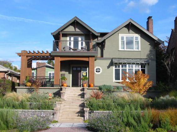 Mountain craftsman style house plans area sq trimmed for Seattle house plans