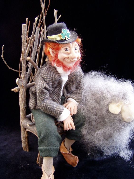 The Leprechaun - Sculpted from Sculpey Polymer Clay