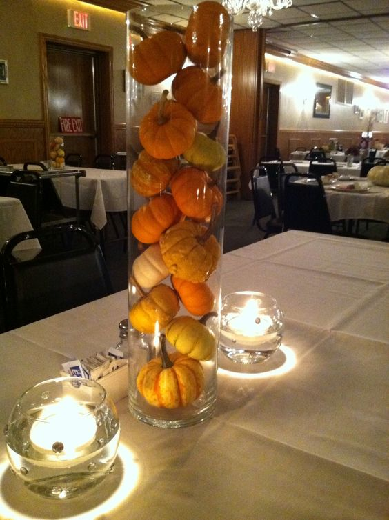 Pinterest the world s catalog of ideas for Simple pumpkin centerpieces