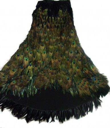 Peacock Feather Skirt 3