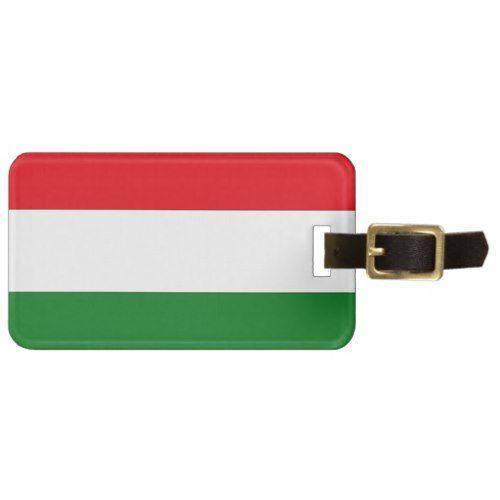 Hungary Flag Bag Tag Hungary Flag Luggage Tags Netherlands Flag