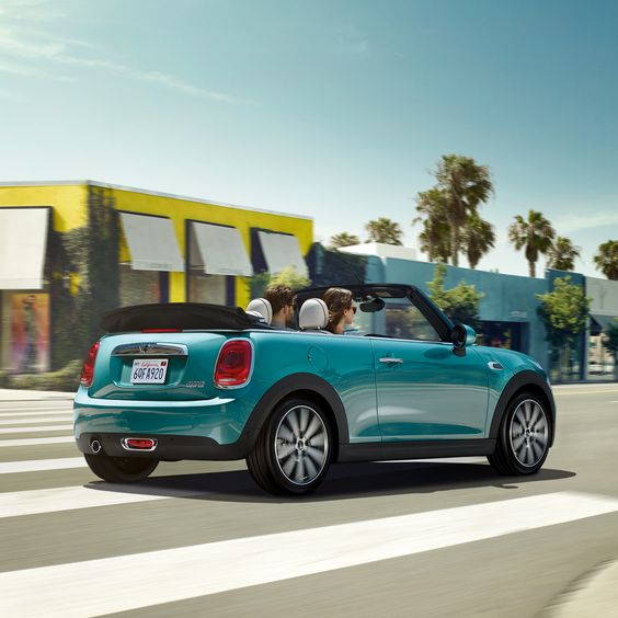 Open up to something new. #MINI #Convertible