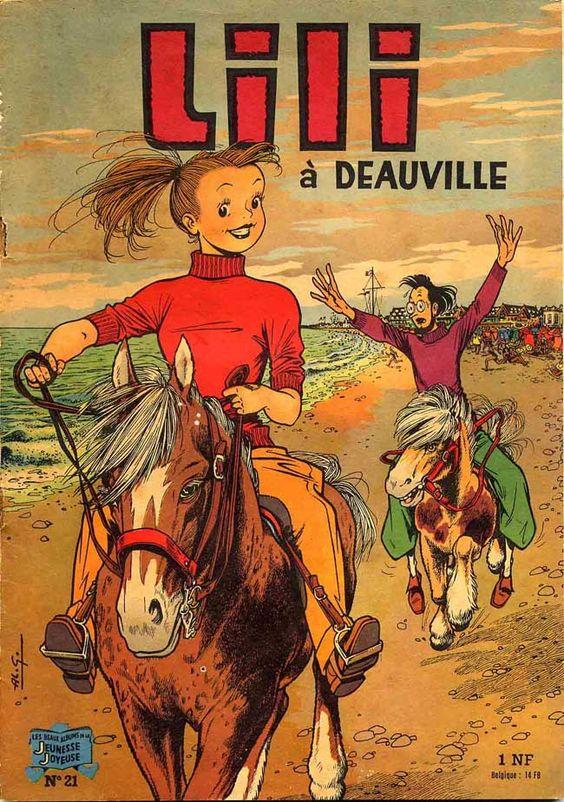 Lili à Deauville