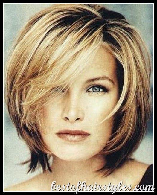 Medium Length Hairstyles For Women medium length hairstyle Chin Length Hairstyles Medium Hairstyles Hair Style Medium Hair Women The