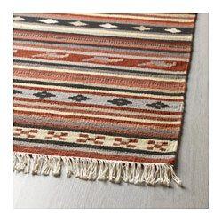 ikea kattrup tapis tiss plat tapis tisss main par des artisans qualifis - Tapis Color Ikea