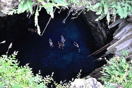 Cenote Chacsinicché, Yucatán, México