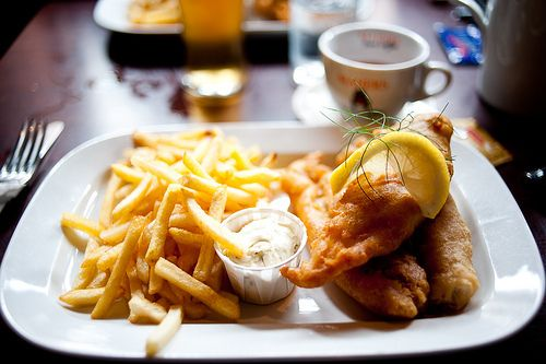fish and chips tumblr - Google Search