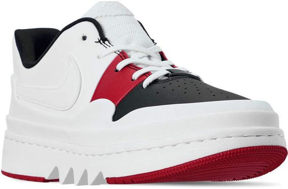 Nike Women's Air Jordan 1 Jester XX Low Laced Casual Shoes