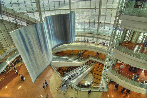 5º: Aeroporto Internacional de Haneda, Tóquio, Japão