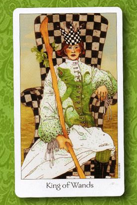 Dreaming Way Tarot - King of Wands