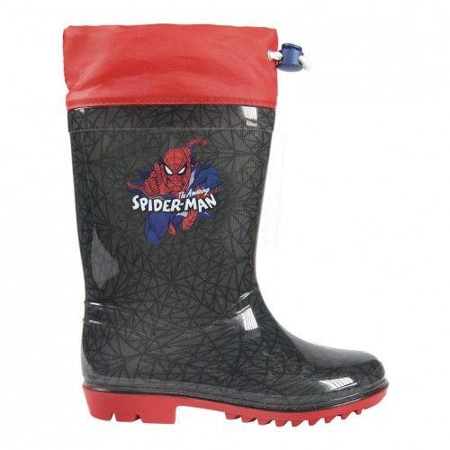 Bota Agua Spiderman 4083 Botas De Goma Para Lluvia Botas De Lluvia Botas De Agua