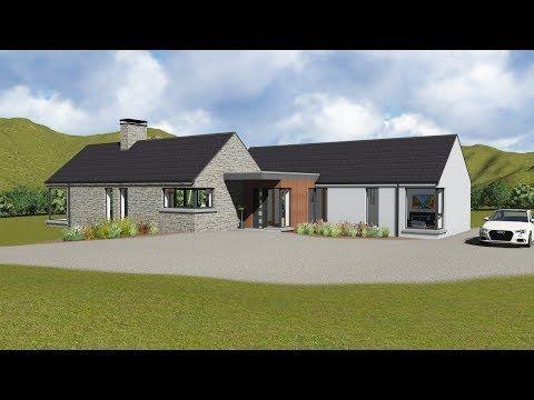 Irish House Plans Type Bw059 Youtube Irish House Plans Barn Style House Plans Irish Houses
