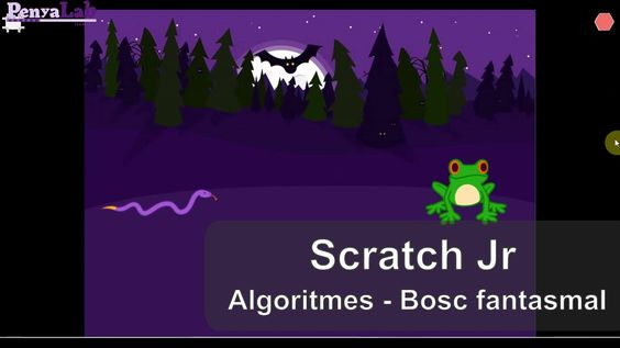 ALGORTMES – Scratch Jr – Bosc fantasmal