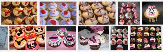 Bachelorette (or Lingerie Shower) Cupcakes! -