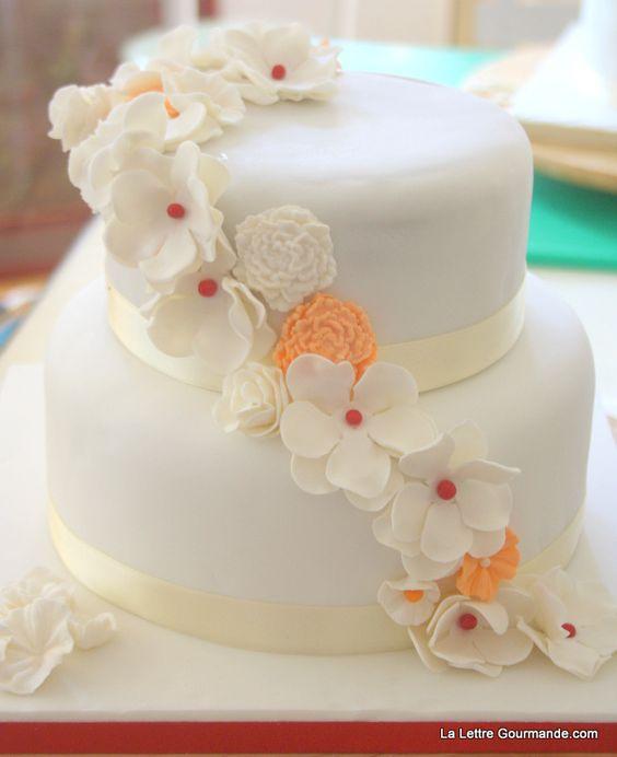 de mariage gâteau de mariage maison bricolage mariage décoration de ...