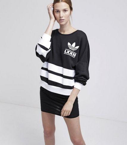 premium selection bc0d6 c4d21 adidas originals bluza czarna