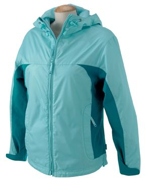 Devon & Jones - Ladies' Signature Colorblock Jacket #devonjones #colorblock #womensouterwear