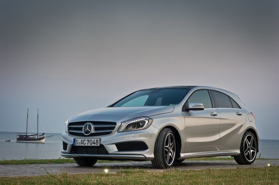 The new Mercedes-Benz A-Class in Slovenia.