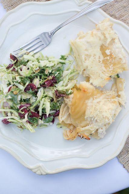 Just Ingredients: Chicken, Zucchini, and Ricotta Cheese Lasagna Rolls