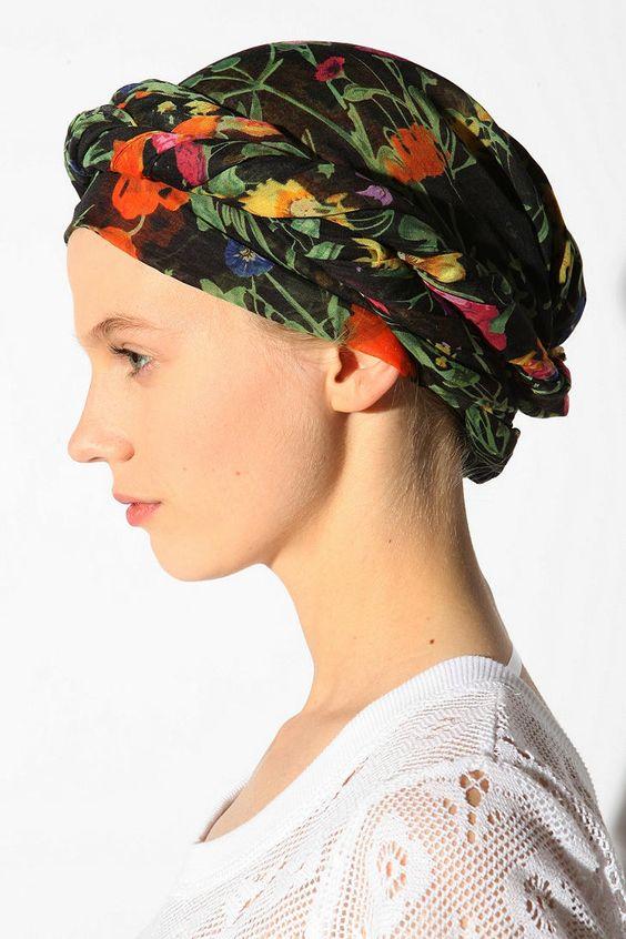 garden headscarf gardens scarfs and