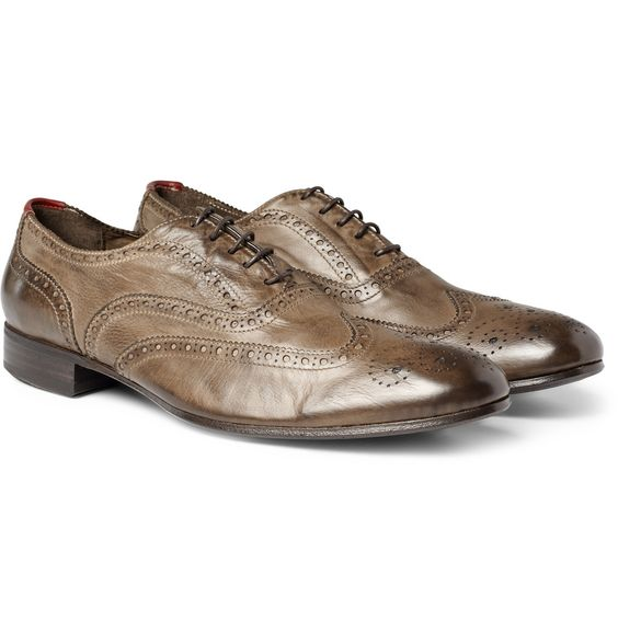 Miller Brogues - I want more variation in my shoes, but I am a sucker for a color I don't have.