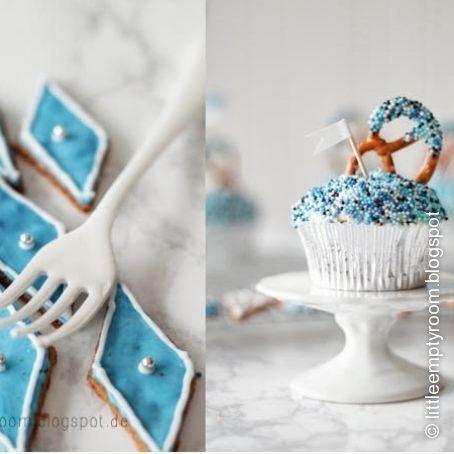 Bayrische Cupcakes