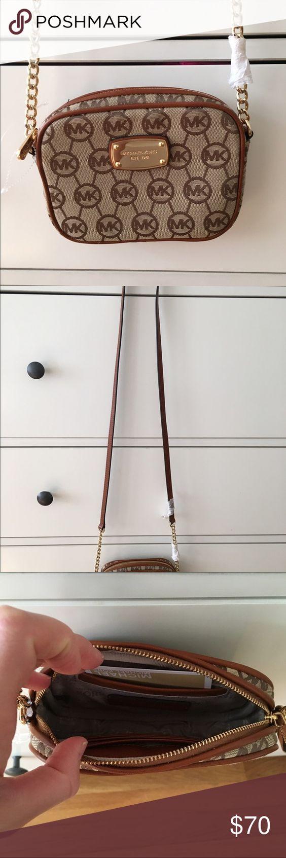 Michael Michael Kors Jet Set Crossbody Brand new with tags MICHAEL Michael Kors Bags Crossbody Bags