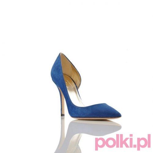 Niebieskie szpilki Baldowski by Zień #polkipl #buty #shoes #baldowski #zien