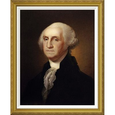 Global Gallery 'George Washington' by Rembrandt Peale Framed Painting Print Size: