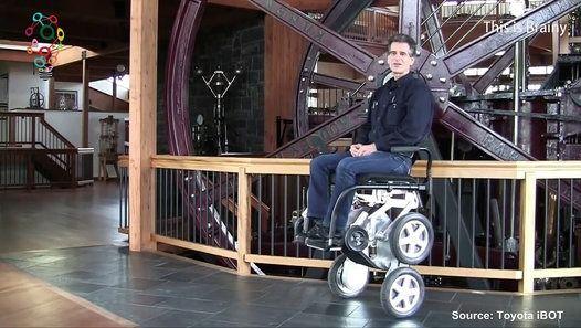 Toyota helps reboot iBOT walking wheelchair http://www.dailymotion.com/video/x4do6ke_toyota-helps-reboot-ibot-walking-wheelchair_people