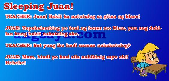 Best Sleeping Juan! - Pinoy Joke, Pinoy Tagalog JokePinoy ...