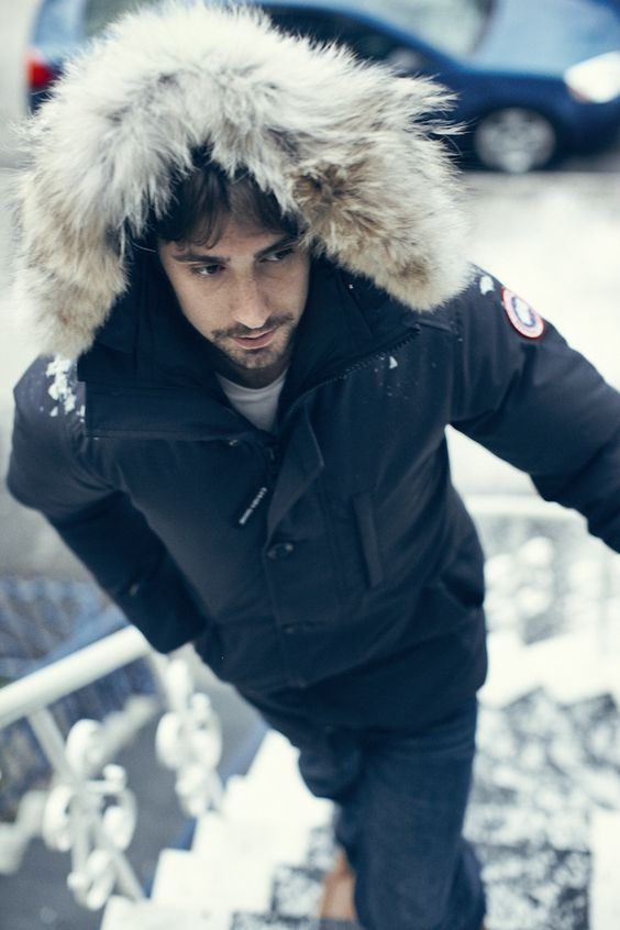 canada goose mens the chateau jacket