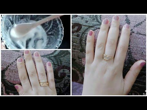ضعية 5 دقائق تبييض اليدين وتفتيح الفواصل تجهيزات العيد تبييض في 3 أيام طريقة لتنعيم اليدين وتبيضها Engagement Rings Wedding Rings Silver Rings