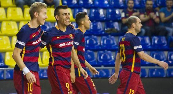 """Taça do Rei: Barcelona vence Magna Gurpea por 5-2 e apura-se para as """"Meias"""""""