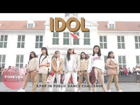 Kpop In Public Challenge Bts Idol Dance In Public Youtube Dance Idol Public