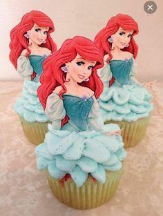 Arial cupcakes