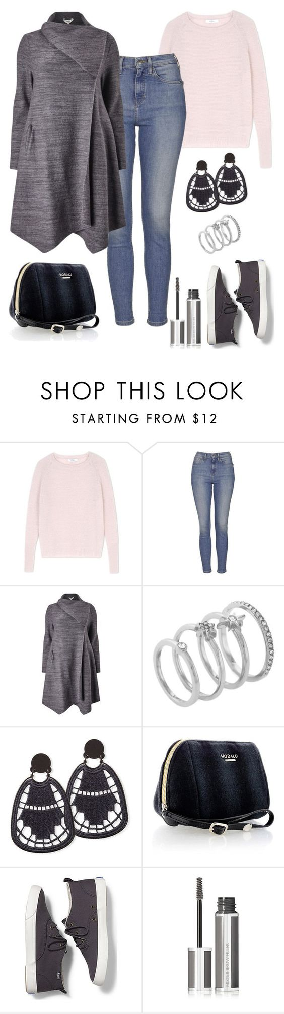 """""""Class."""" by schenonek ❤ liked on Polyvore featuring MaxMara, Topshop, Studio 8, Vince Camuto, Modalu, Keds and Givenchy"""