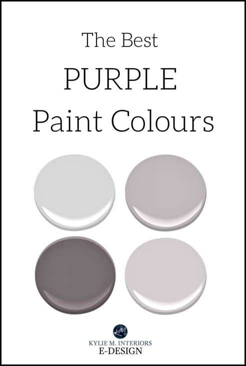 Pin By Dayna Ford On Color Palettes Purple Grey Paint Color