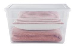 Sterilite 56-qt. Clear Storage Tote from Target USA $4.99