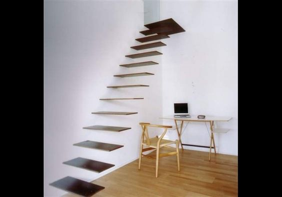 Floating Staircase, Spain: Interior Design, Floating Stairs, Stair Design, Stair Case, Dream House, Dream Home, Google Search, Floating Staircases