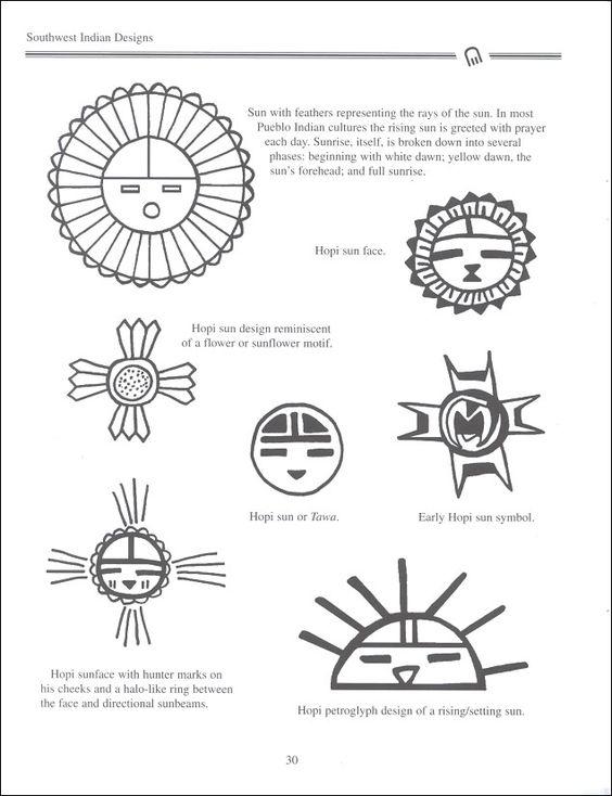 Pinterest • The world's catalog of ideas Hopi Sun Symbol