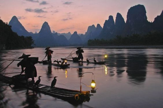 The beauty of Guilin , China