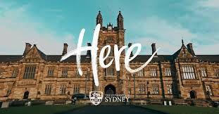 Here! The University of Sydney