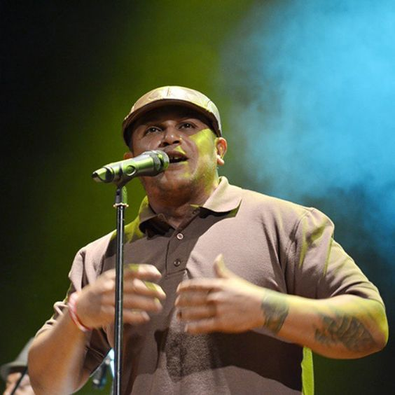 Así #SuenaCaracas / El #rap de la vieja escuela estuvo presente en el Festival Latinoamericano de #Música representado en la voz de El Nigga Sibilino.