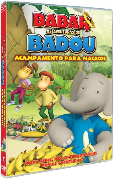 Babar e as Aventuras de Badou Vol.3, Babar e Badou - . Comprar filmes e DVD na Fnac.pt