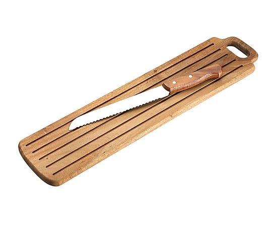 Ganivet per pa d'acer amb taula
